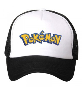 pokemon art printed cap